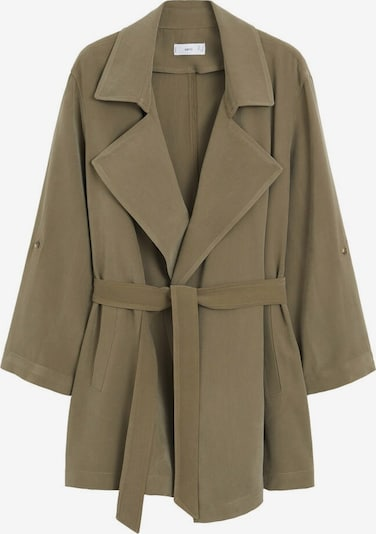 Palton de primăvară-toamnă 'Guardapo' MANGO pe kaki, Vizualizare produs