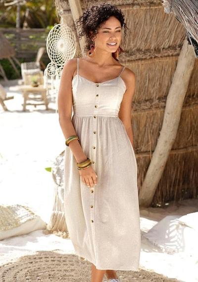 LASCANA LASCANA Sommerkleid in sand, Modelansicht