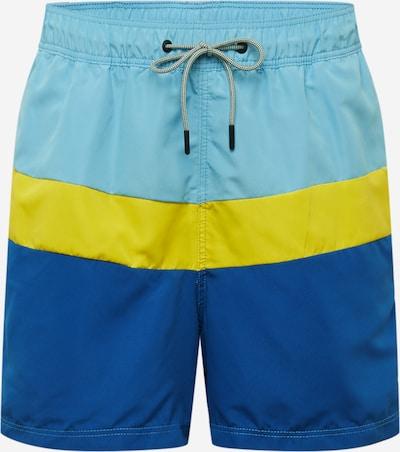 kék / sárga JACK & JONES Rövid fürdőnadrágok, Termék nézet