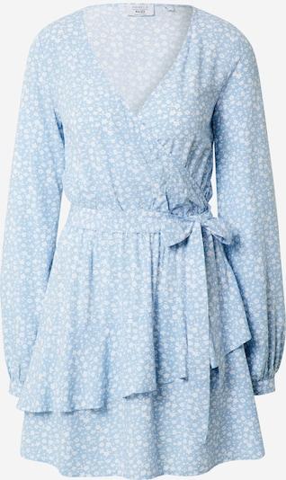 NA-KD Kleid 'Pamela' in hellblau / weiß, Produktansicht