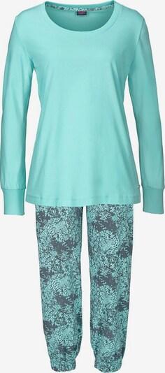 BUFFALO Pyjama in türkis / taubenblau, Produktansicht