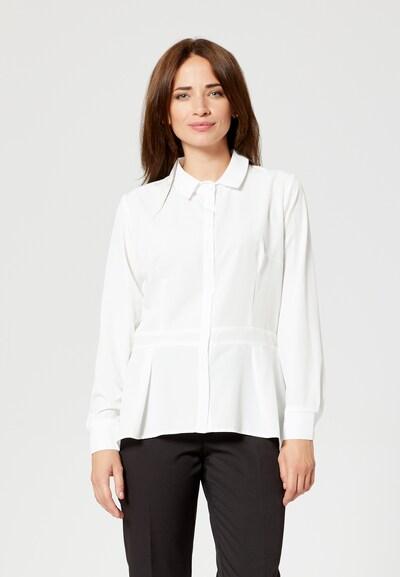 Usha Bluse in weiß, Modelansicht
