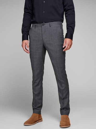 JACK & JONES Anzughose in dunkelgrau, Modelansicht