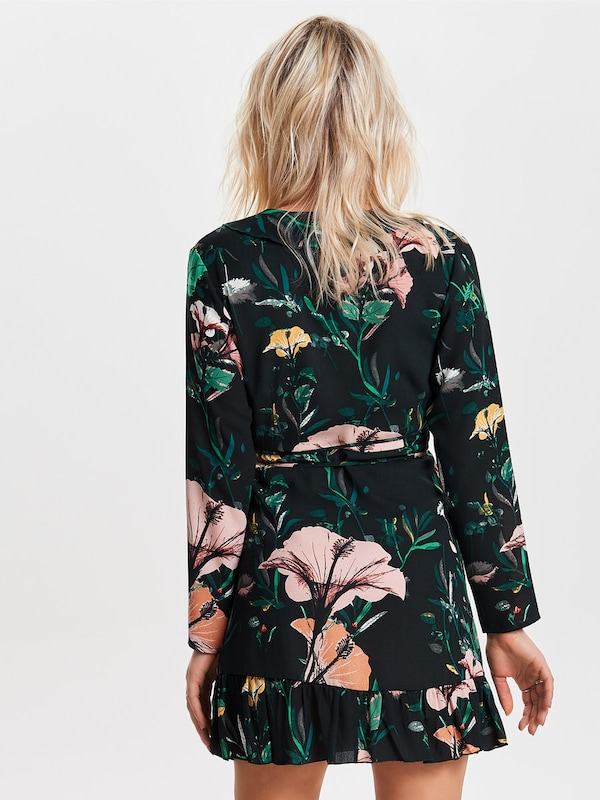 ONLY Kleid mit Wickeldetail