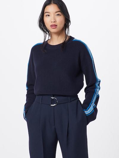 BOSS Pullover 'Wamika' in blau, Modelansicht