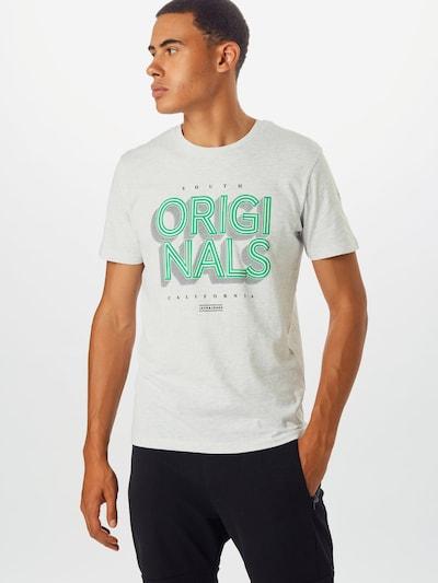 JACK & JONES Koszulka 'JORVENICEBEACH' w kolorze białym: Widok z przodu