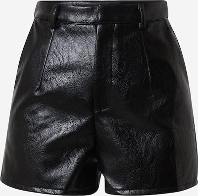 Missguided Pantalon 'Faux' en noir, Vue avec produit