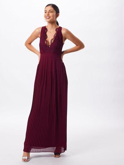 TFNC Vestido de noche 'MADALEN' en rojo, Vista del modelo