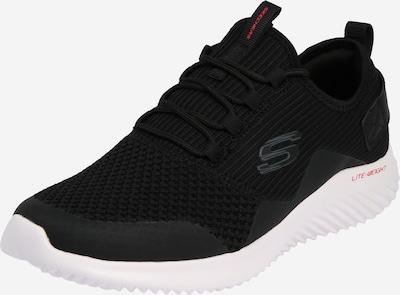 fekete / fehér SKECHERS Rövid szárú edzőcipők 'BOUNDER ARKALA', Termék nézet