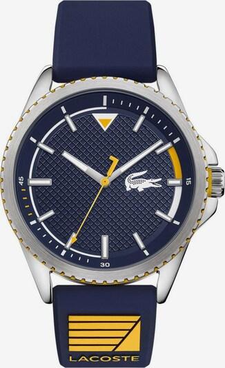 LACOSTE Analoog horloge in de kleur Navy / Geel gemêleerd / Zilver / Wit, Productweergave