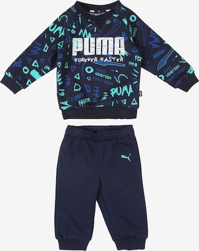 PUMA Jogginganzug in blau / mischfarben, Produktansicht