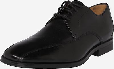 CLARKS Schnürschuh 'Gilman Mode' in schwarz: Frontalansicht