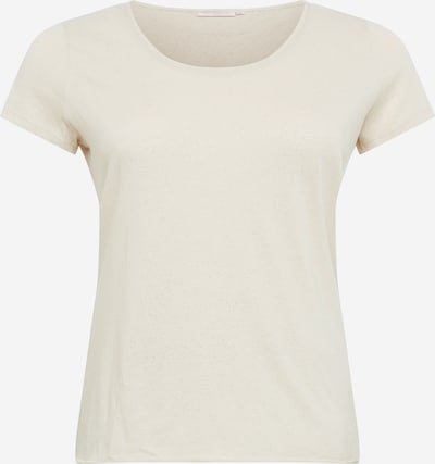 ONLY Carmakoma T-Shirt in beige: Frontalansicht