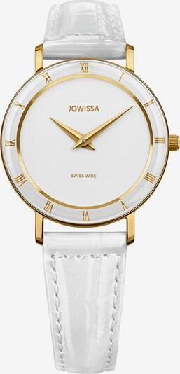 JOWISSA Quarzuhr 'Roma' Swiss Ladies Watch in gold / weiß, Produktansicht