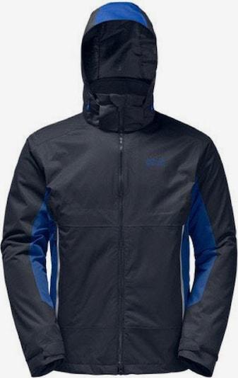 JACK WOLFSKIN Jacke 'North Border' in blau / schwarz, Produktansicht