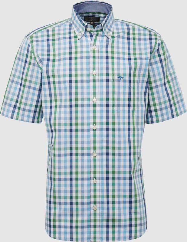 FYNCH-HATTON Hemd in hellblau   grün   weiß  Freizeit, schlank, schlank