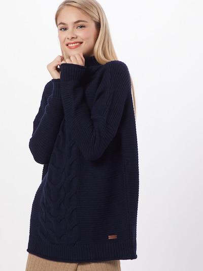 Megztinis 'TOFEDO' iš LTB , spalva - tamsiai mėlyna: Vaizdas iš priekio