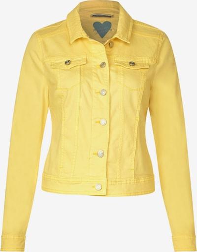 STREET ONE Denimjacke 'Roxana' in gelb, Produktansicht