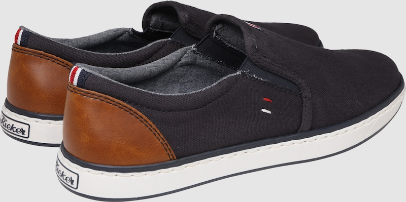 RIEKER Canvas-Slipper