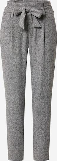 VERO MODA Pantalon à plis en gris, Vue avec produit