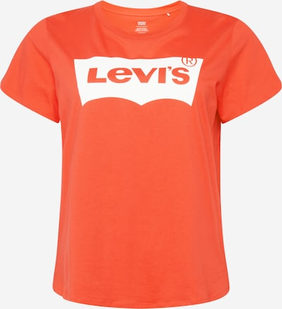 Levi's® Plus Shirt 'PERFECT' in de kleur Watermeloen rood / Wit, Productweergave
