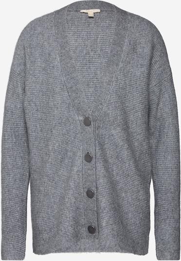 ESPRIT Strickjacke 'cardigan struct' in grau, Produktansicht