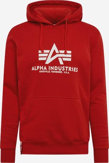 ALPHA INDUSTRIES Mikina - červená, Produkt