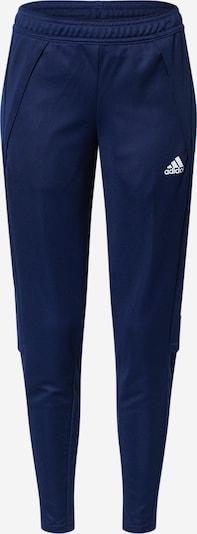 ADIDAS PERFORMANCE Hose in blau / navy / weiß: Frontalansicht