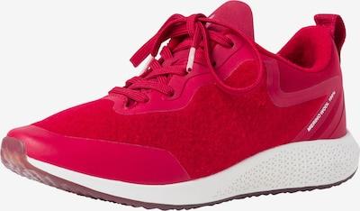 TAMARIS Sneaker in rot: Frontalansicht