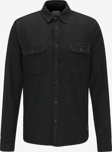 MUSTANG Hemd in grey denim, Produktansicht