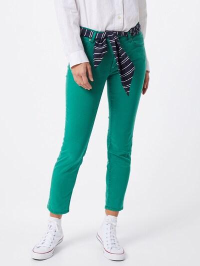 Marc O'Polo Jeans 'Lulea' in dunkelblau / smaragd, Modelansicht