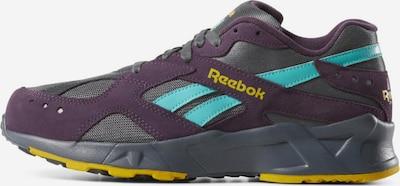 Reebok Classics Sneaker 'Aztrek' in türkis / gelb / stone / violettblau, Produktansicht