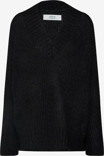 REPLAY Pullover in schwarz, Produktansicht