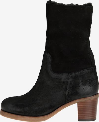 SHABBIES AMSTERDAM Stiefelette mit Blockabsatz in schwarz, Produktansicht