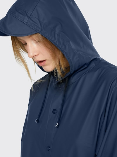 RAINS Functionele mantel in de kleur Navy, Productweergave