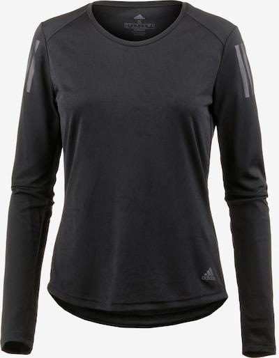 ADIDAS PERFORMANCE Laufshirt 'Own The Run' in dunkelgrau / schwarz, Produktansicht