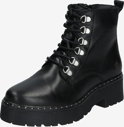 Suvarstomieji kulkšnis dengiantys batai 'AW19-BEATRICE' iš Apple of Eden , spalva - juoda: Vaizdas iš priekio