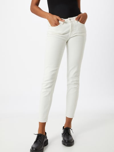 TOM TAILOR DENIM Jeans 'Nela' in weiß, Modelansicht