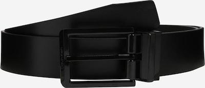 Calvin Klein Ceinture 'Skived Buckle Mono' en noir, Vue avec produit