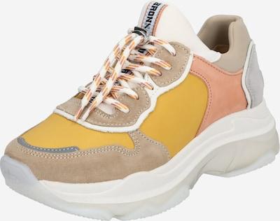 BRONX Sneaker 'Baisley' in beige / gelb / taupe, Produktansicht