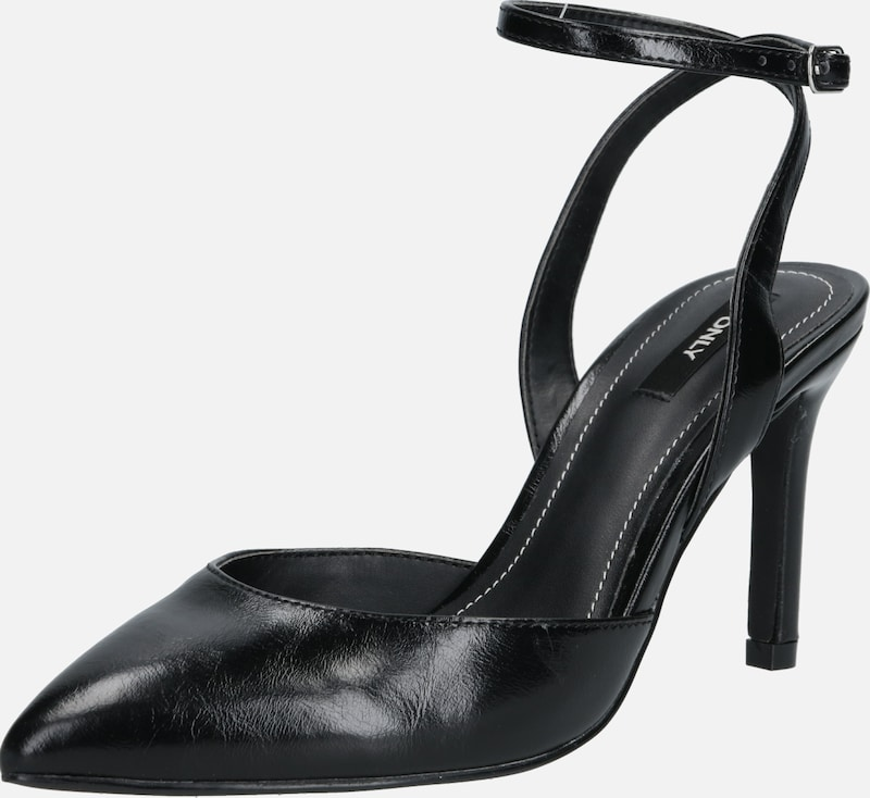 ONLY Pumps 'Peaches' in schwarz, Produktansicht