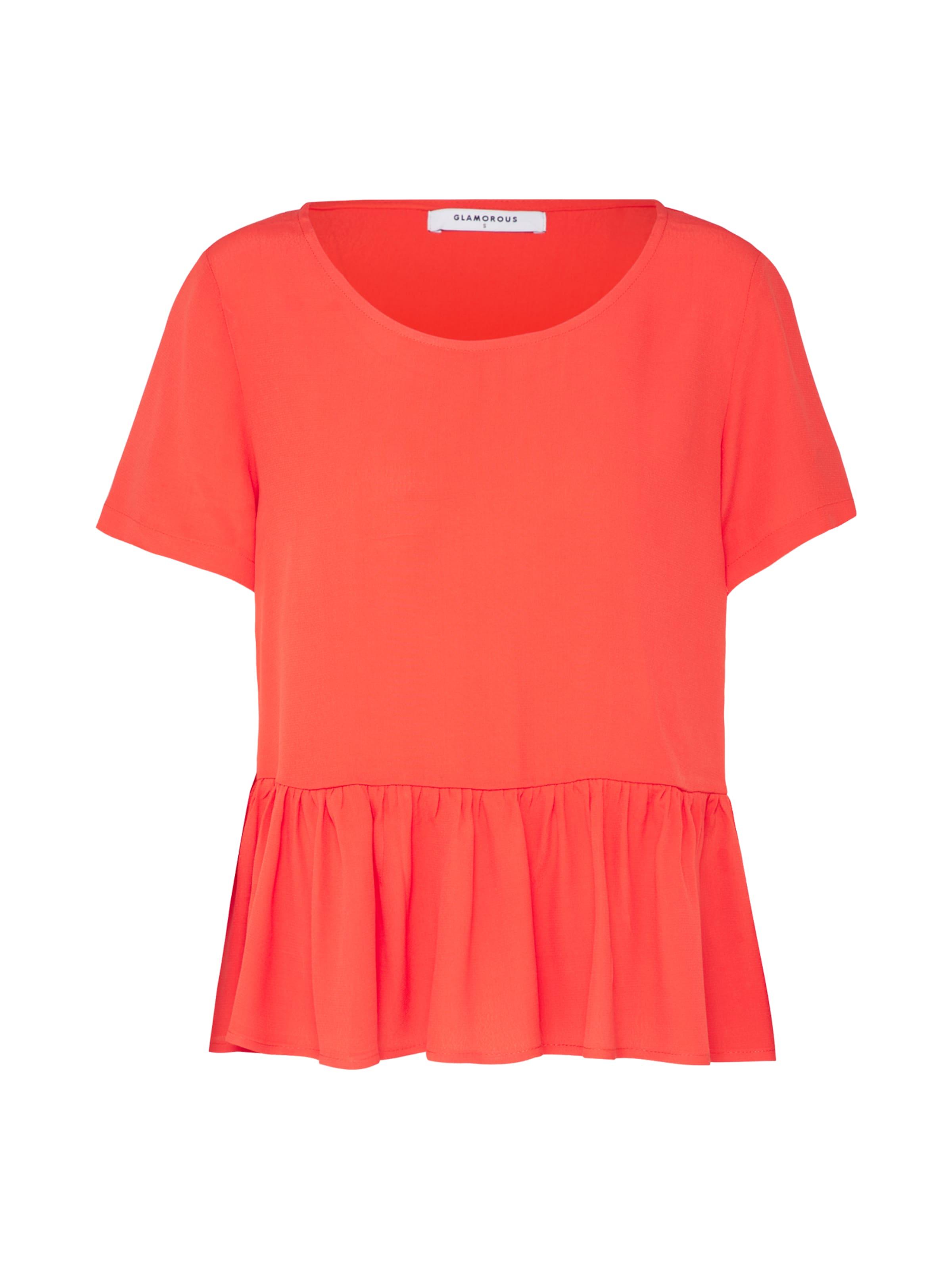 En Glamorous shirt 'ck4269' T Rouge Orangé wURUaBtq