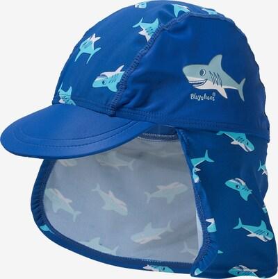 PLAYSHOES Mütze 'HAI' in blau / hellblau / weiß, Produktansicht