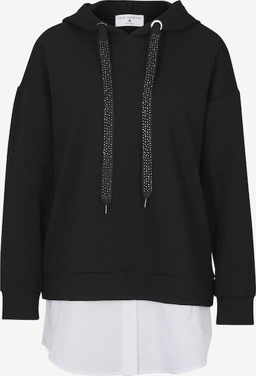 heine Sweatshirt in schwarz / weiß, Produktansicht
