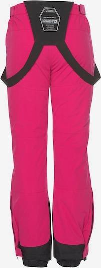 KILLTEC Skihose in pink / schwarz, Produktansicht