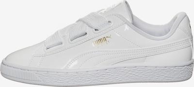 PUMA Sneaker 'Basket Heart Patent' in weiß, Produktansicht