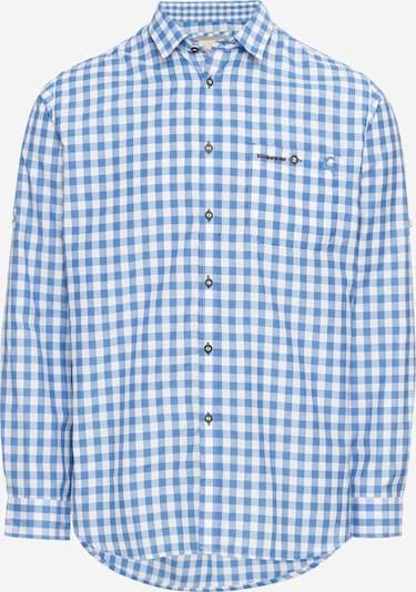 STOCKERPOINT Hemd 'Mitchel' in blau / weiß, Produktansicht