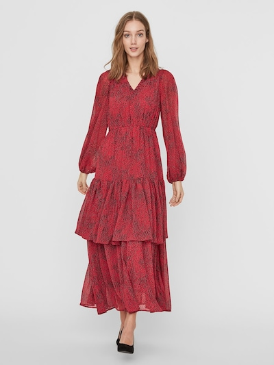 VERO MODA Kleid in rot | ABOUT YOU