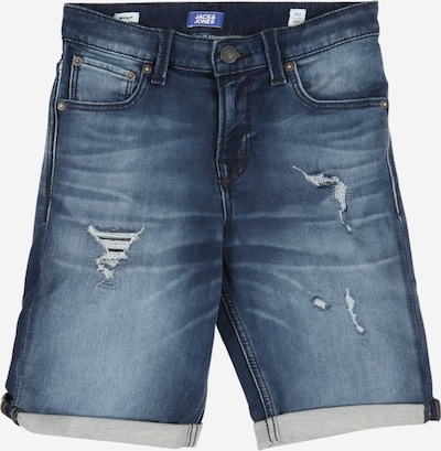 Jack & Jones Junior Jeans 'Rick Con' in de kleur Blauw denim, Productweergave