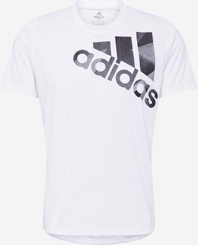 ADIDAS PERFORMANCE T-Shirt 'Tokyo' in grau / weiß, Produktansicht